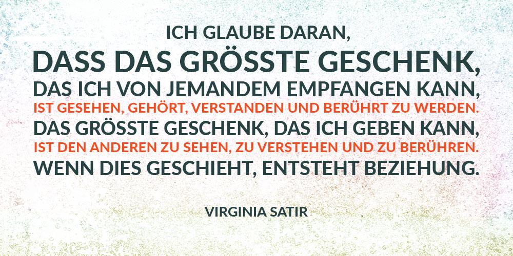 Zitat von Virginia Satir